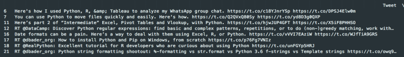DataFrame Python Only
